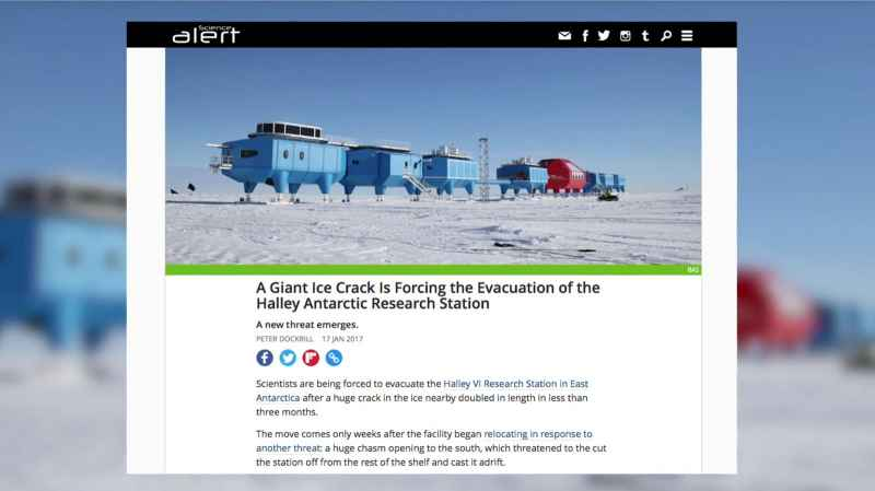 6 Antarctic Evacuations