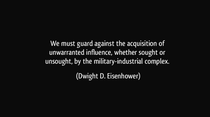 5 Eisenhower Statement