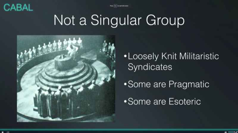 22 Cabal Not A Singular Group