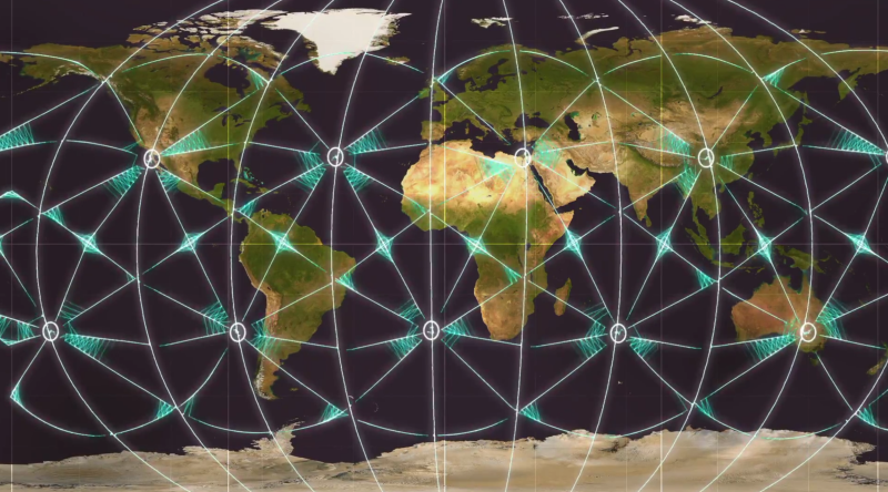 4 Ley Lines Global Map