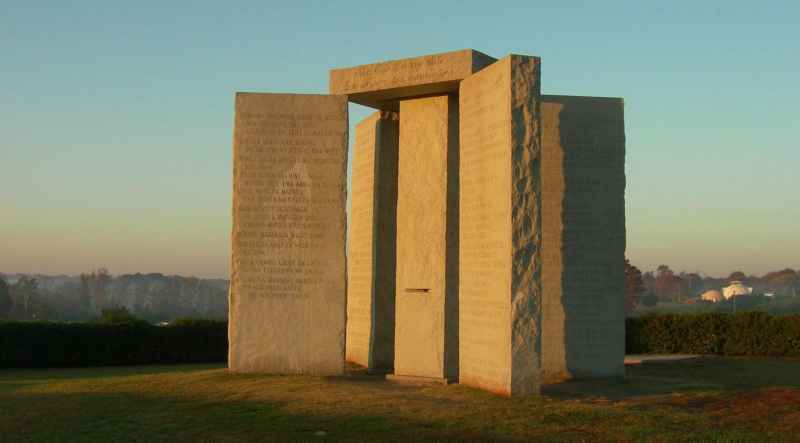 12 Georgia Guidestones
