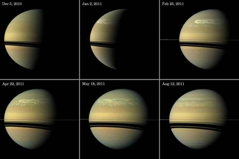 3a Tormenta de Saturno 2011